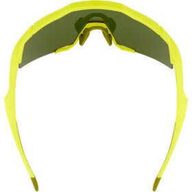 100% Speedcraft Glasses Tall soft tact banana/smoke
